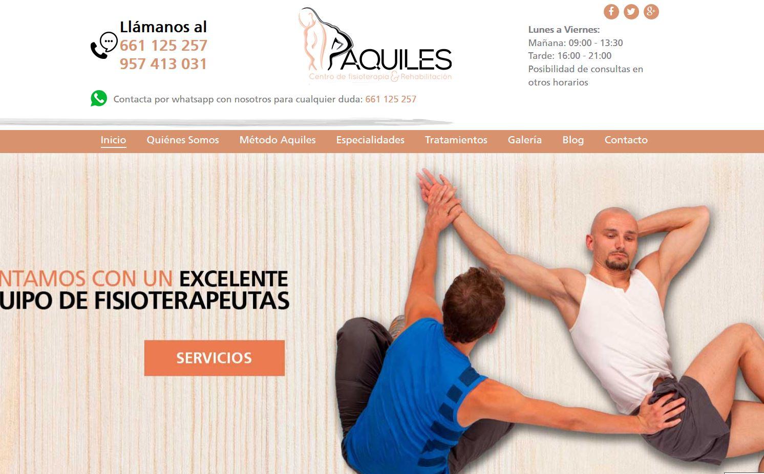 Fisioterapia Aquiles - Dobuss