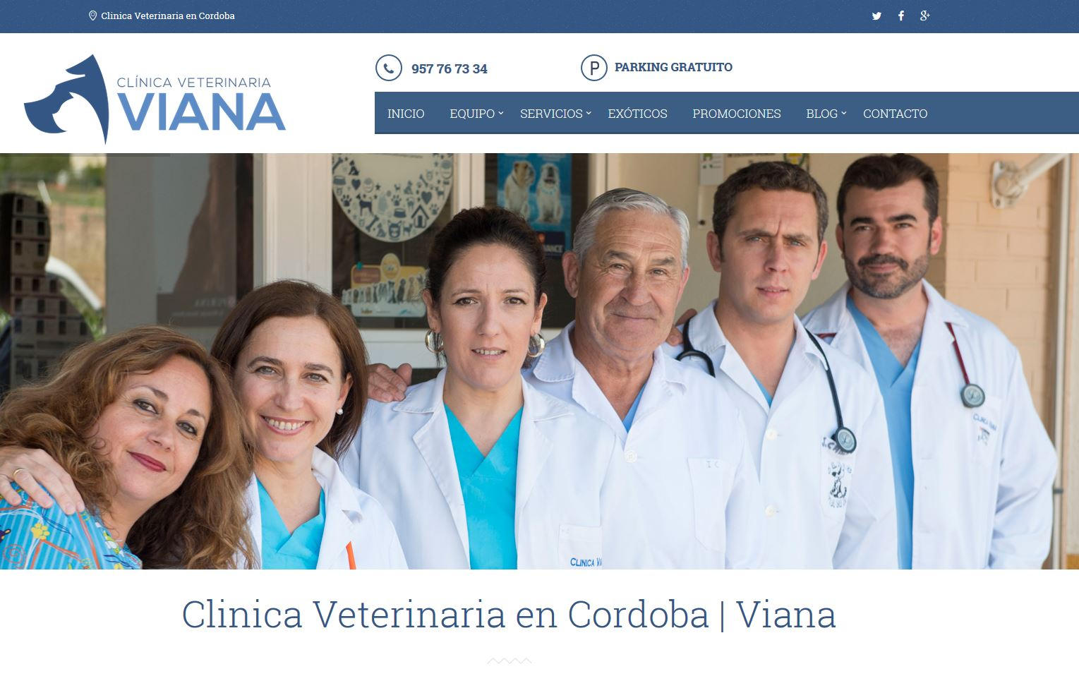 Clínica Veterinaria Viana - Dobuss