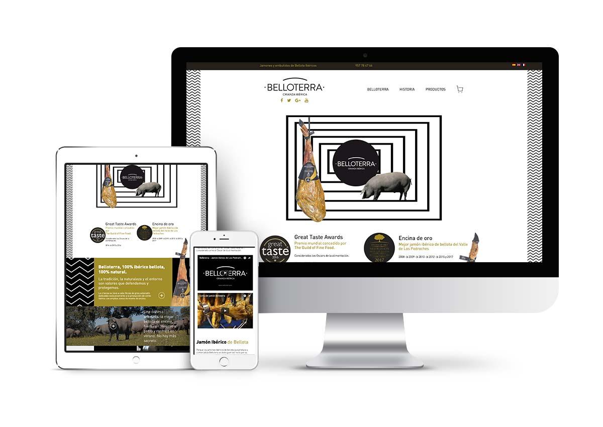 Belloterra - Diseño tienda online