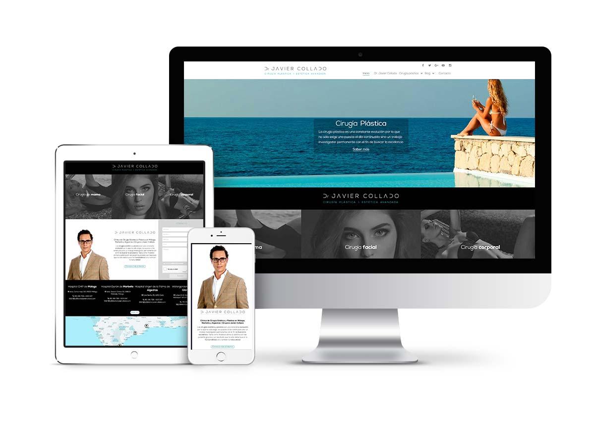 Javier Collado - Diseño web