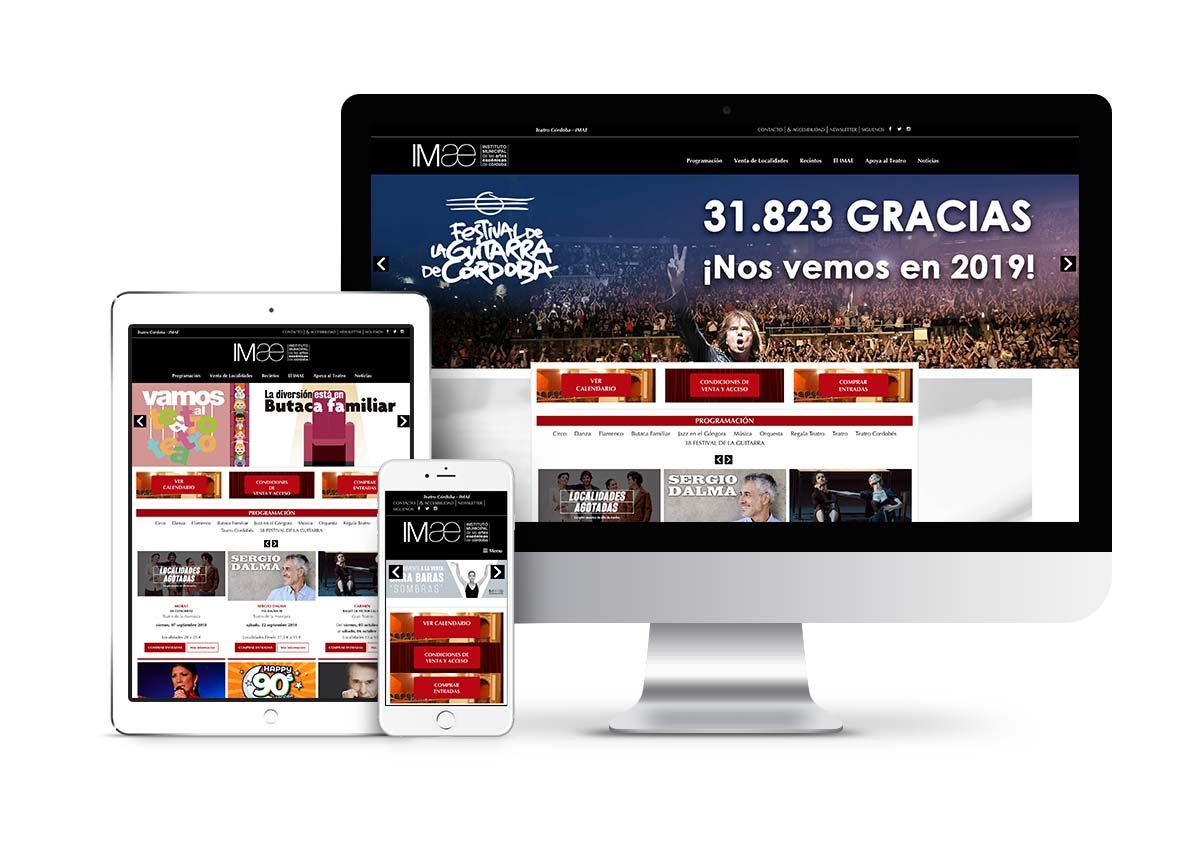 Gran teatro - Diseño tienda online