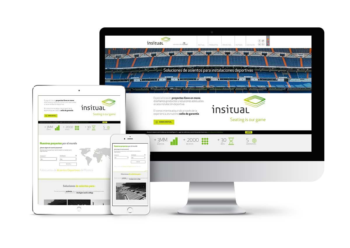 Insitual - Diseño web