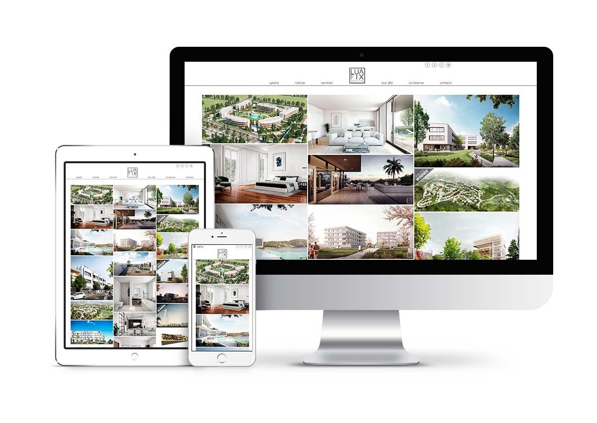 Luafix - Diseño web