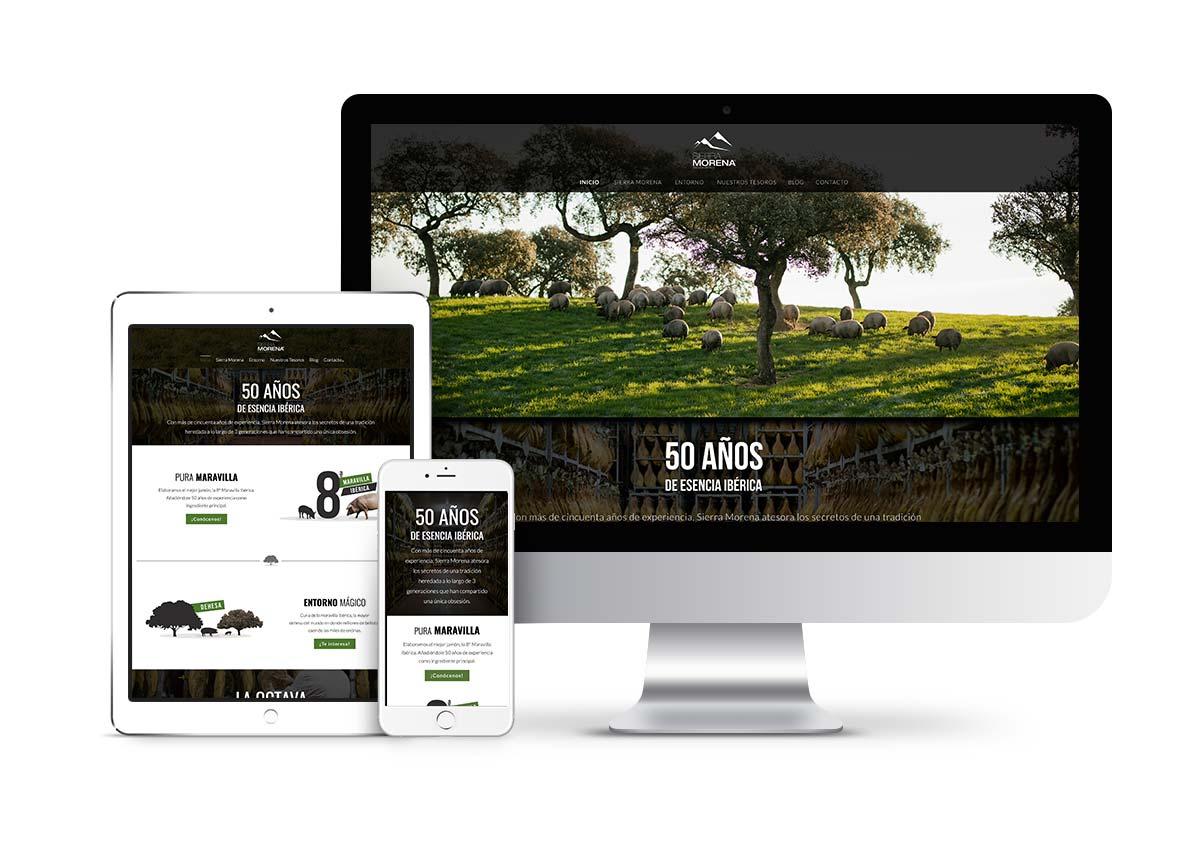 Sierra Morena - Diseño web