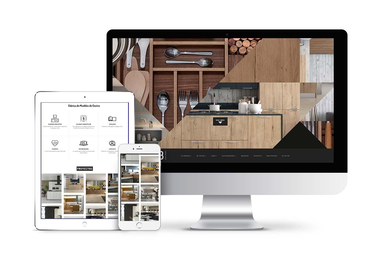 OB Cocinas - Diseño web