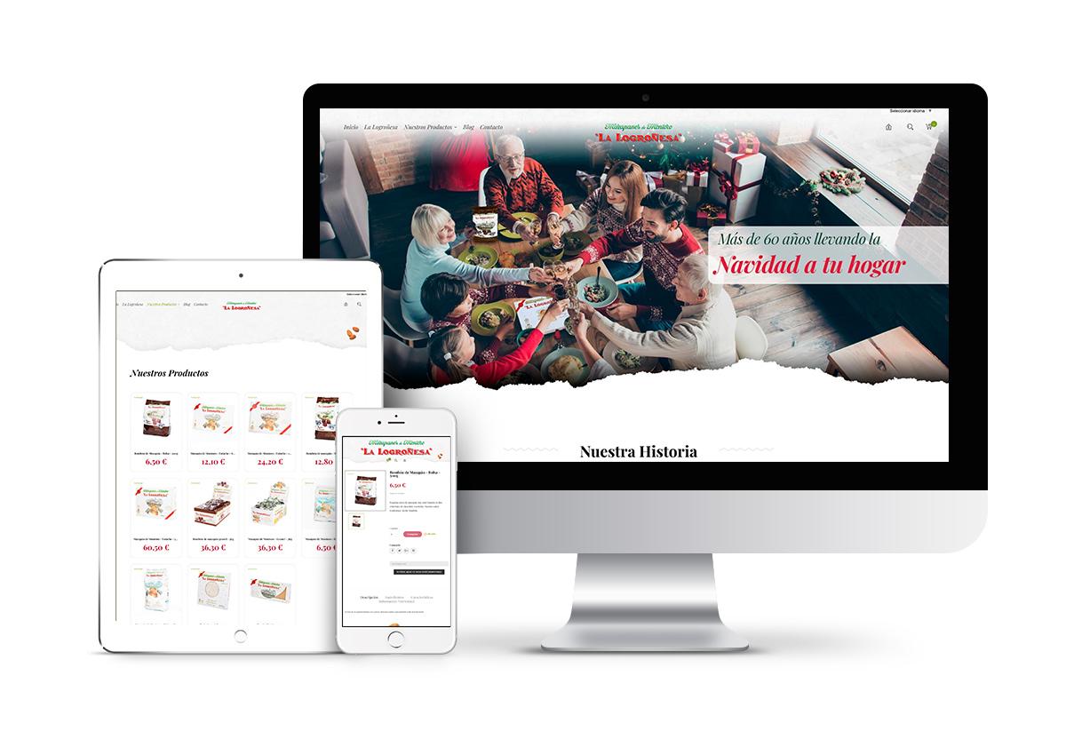 La Logroñesa - Diseño tienda online