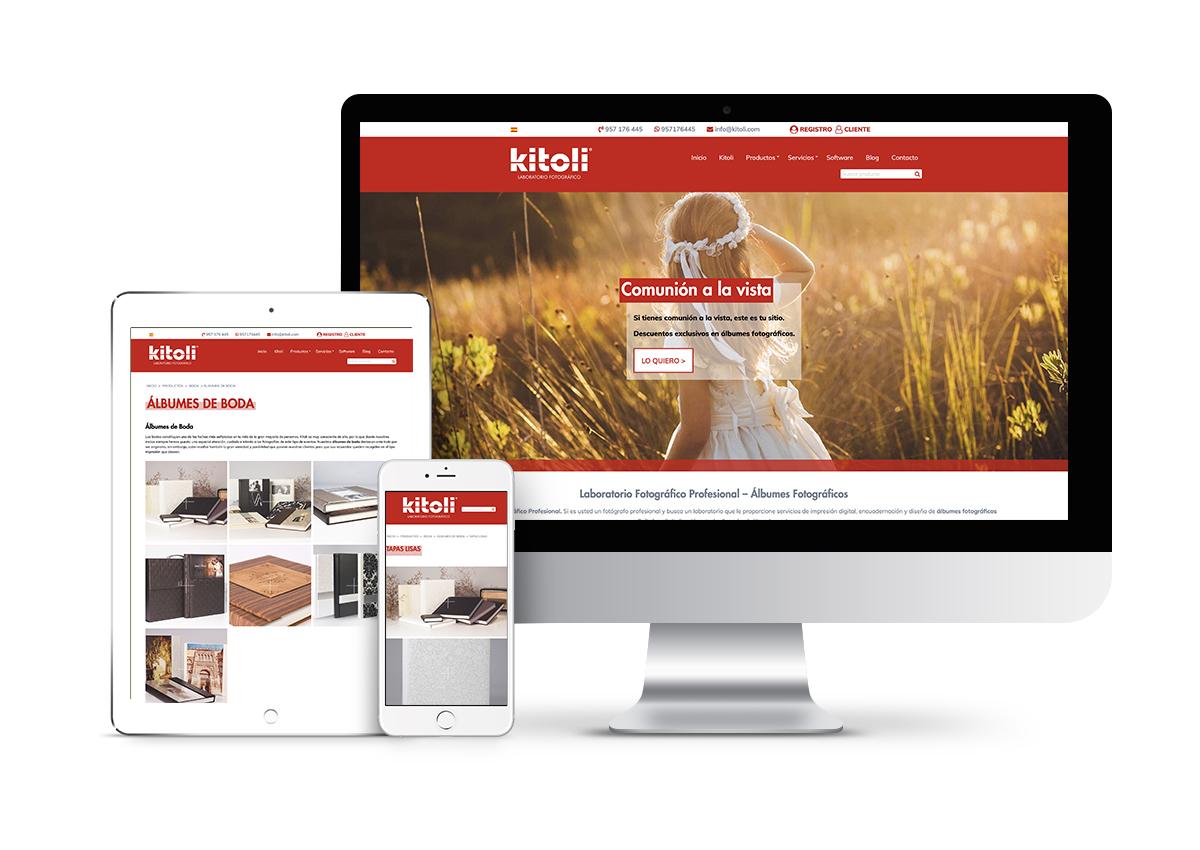 Kitoli - Diseño web
