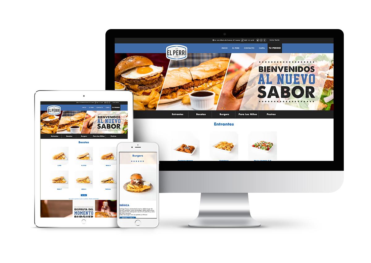 El Perri – Diseño tienda online