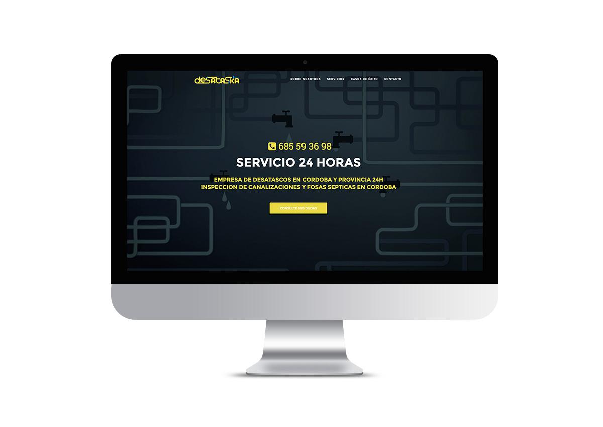 Destaska - Landing Page