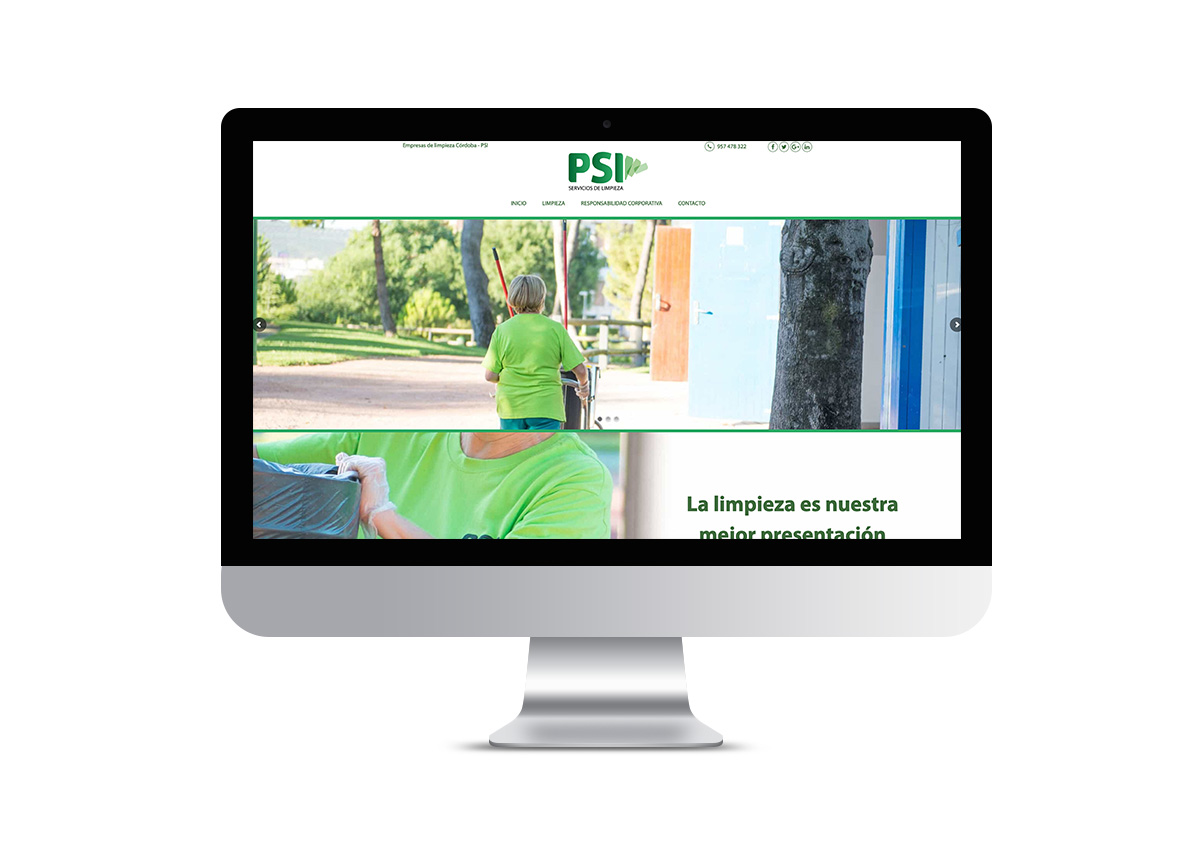PSI - Landing Page