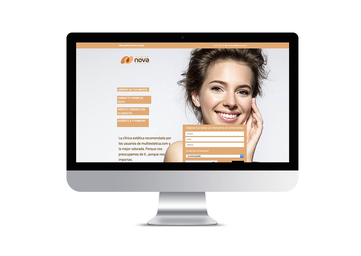Clínica Nova - Landing Page