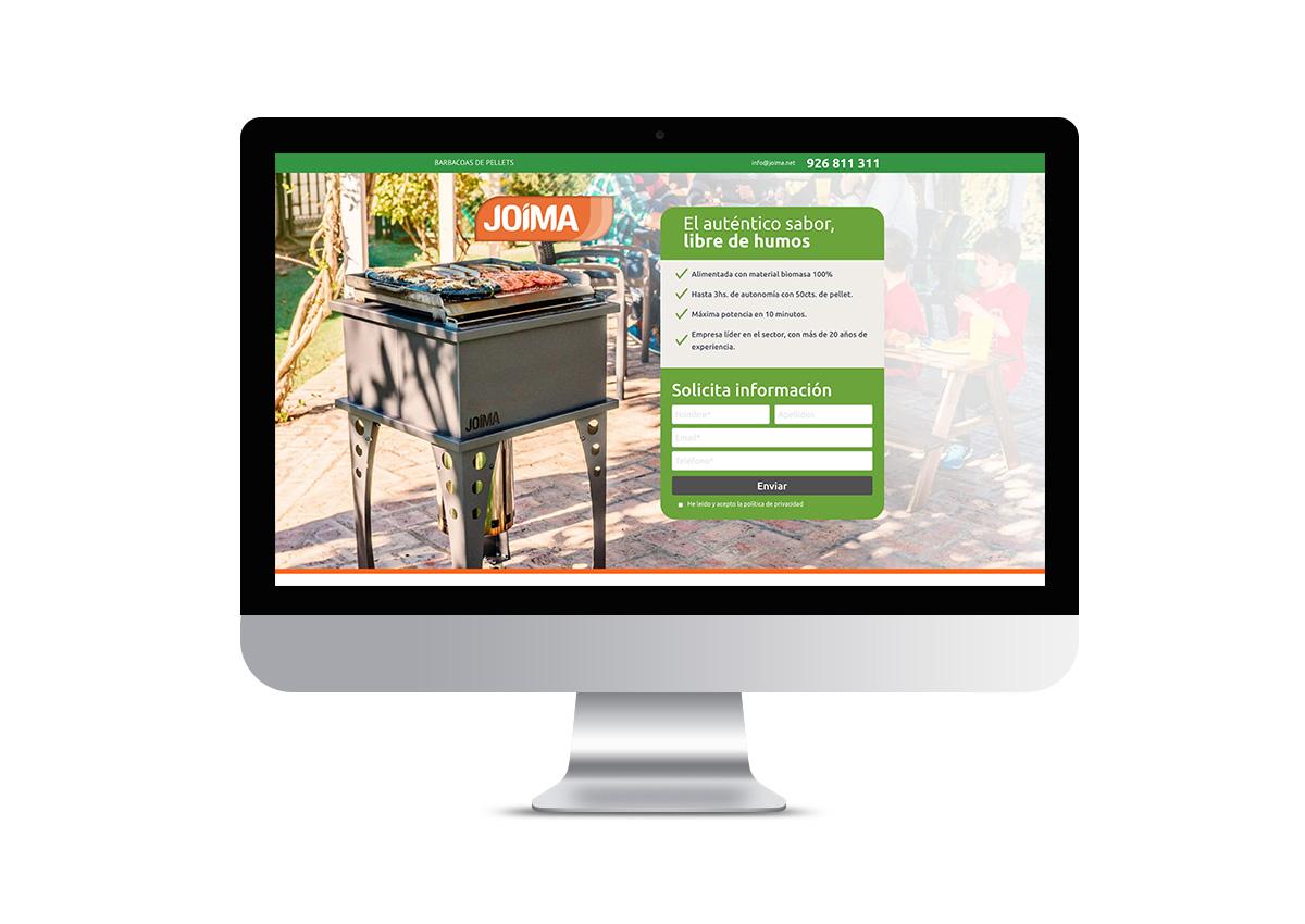 Joima - Landing Page
