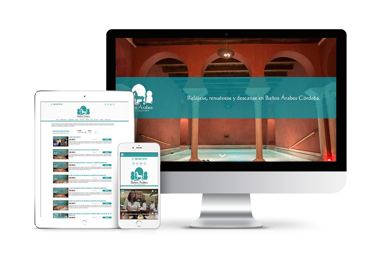 Baños árabes – Diseño tienda online