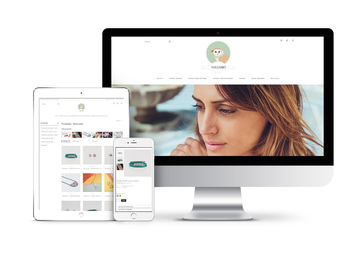 Nelumbo – Diseño tienda online