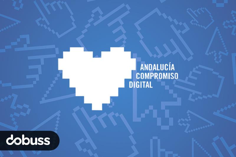 Dobuss en colaboración con Andalucía Compromiso Digital