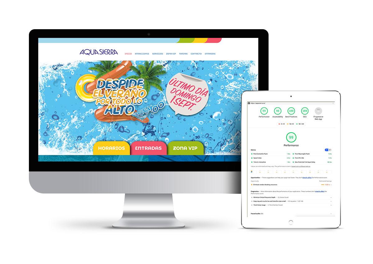 Aquasierra – Optimización web