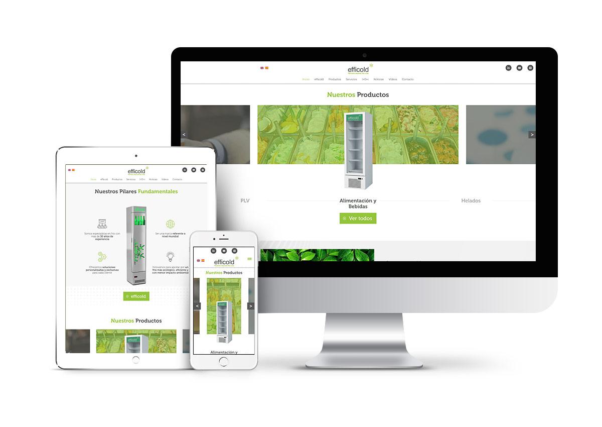 efficold - Diseño web