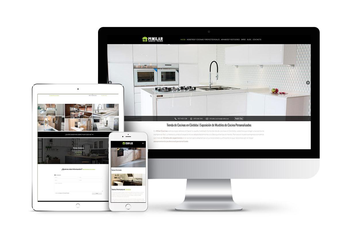 Cocinas Milar Córdoba – Diseño web