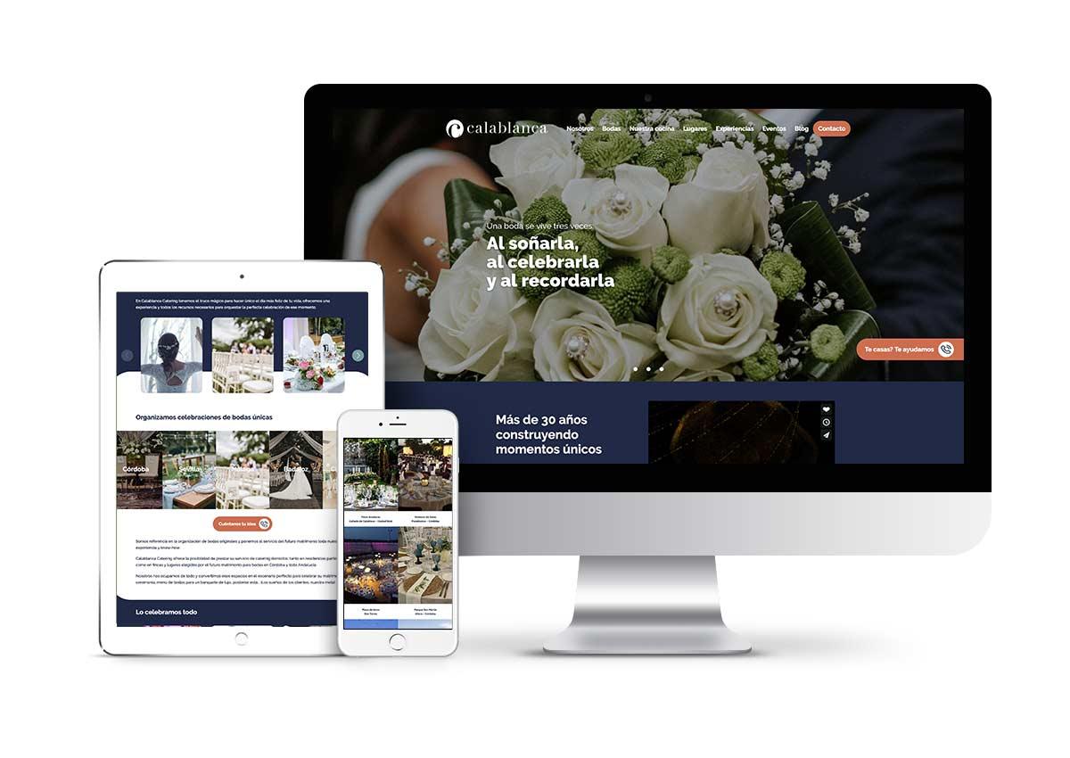 Calablanca – Diseño web