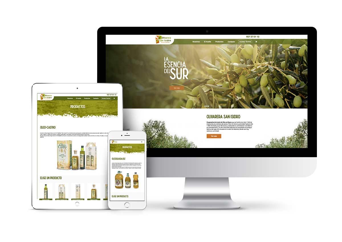 Olivarera San Isidro – Diseño tienda online