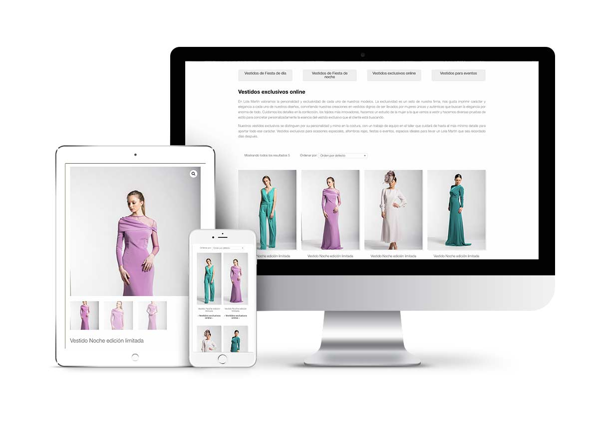 Lola Martin – Diseño tienda online