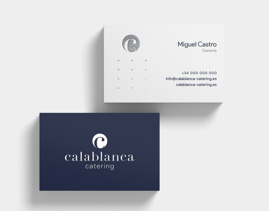 Tarjetas Calablanca – Imagen corporativa
