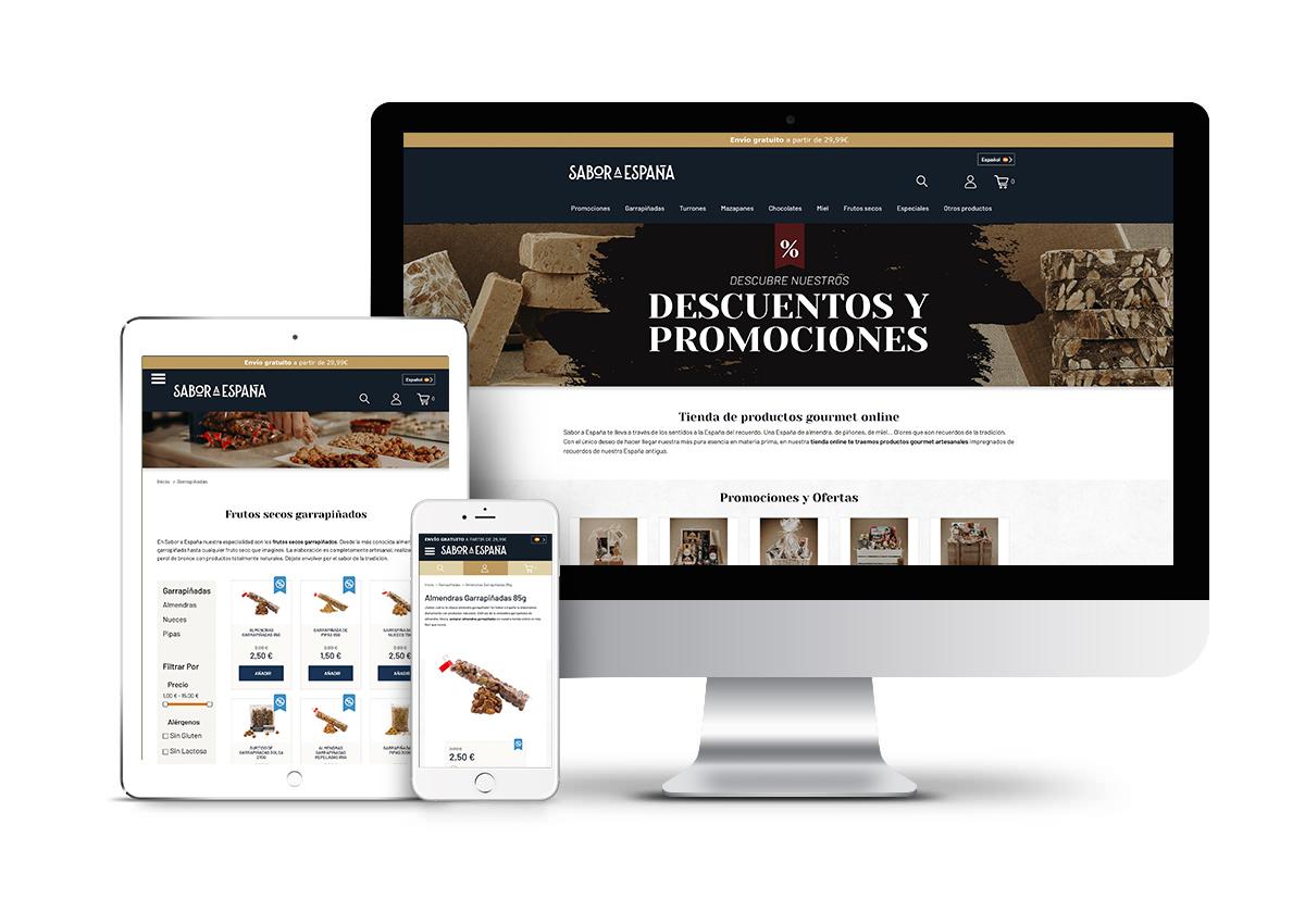Sabor a España – Diseño tienda online