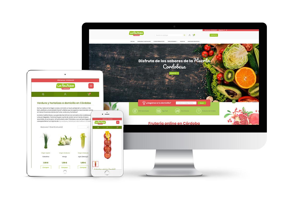 La Frutera – Diseño tienda online