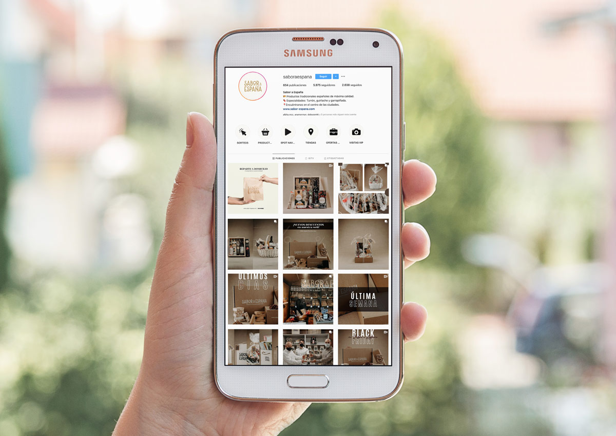 Instagram Sabor a España – RRSS