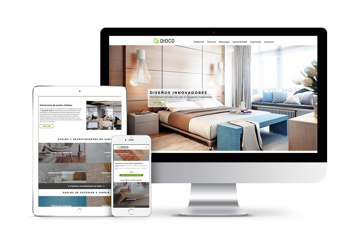 Dioco – Diseño web