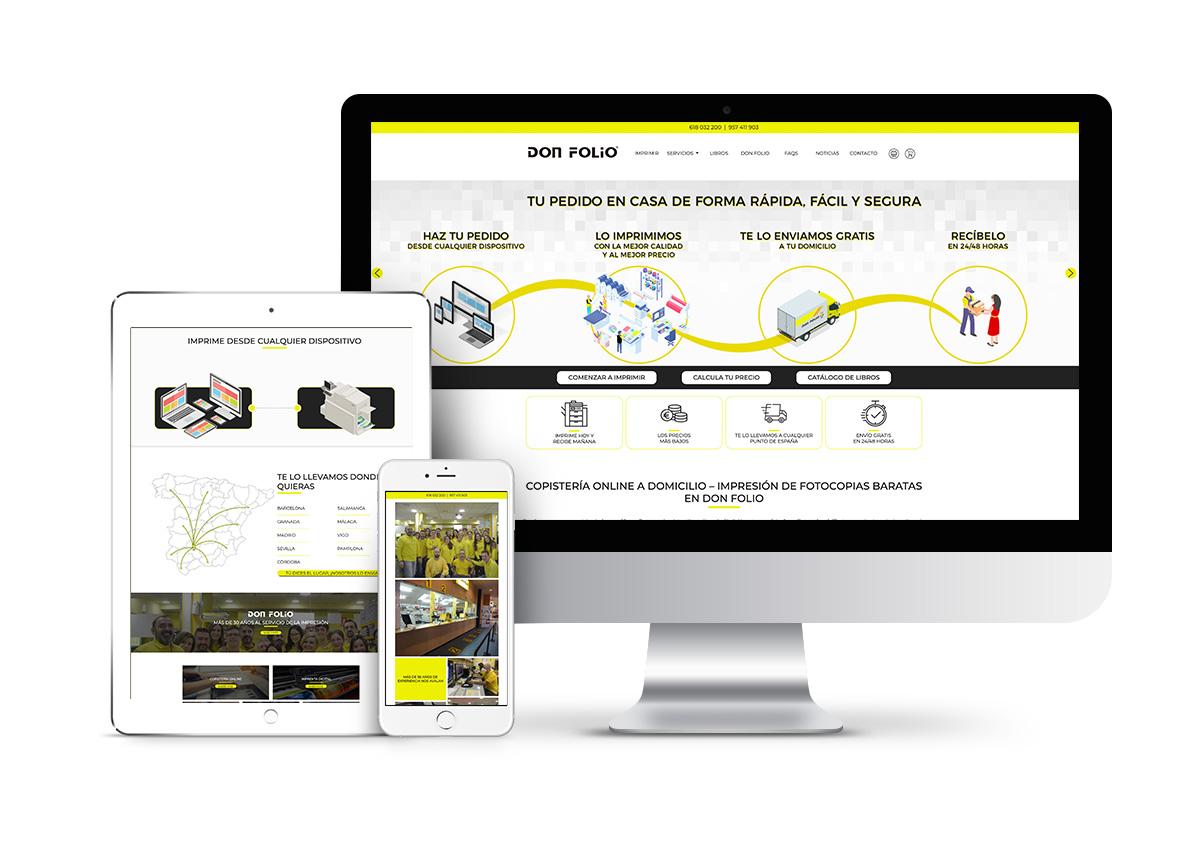 Don Folio – Diseño tienda online